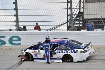 NASCAR's Trevor Bayne fined, put on probation for walking on track