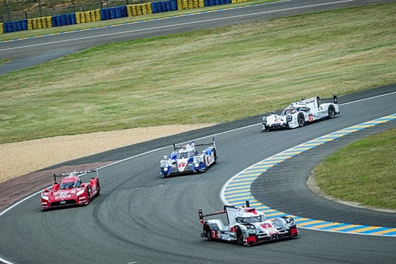 All four major LMP1 teams run at extra Le Mans test day