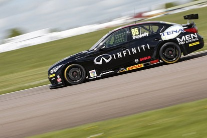 Ex-F1 driver Martin Donnelly working to stay in the BTCC