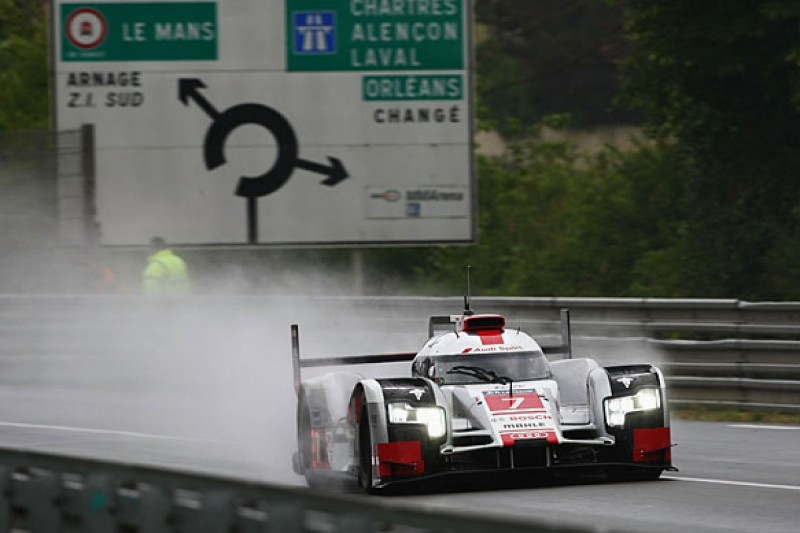 LMP rain light rule change from Le Mans after Kazuki Nakajima crash