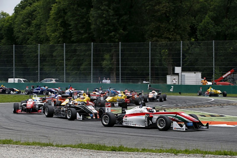 Monza European F3: Rosenqvist wins as race abandoned after crashes
