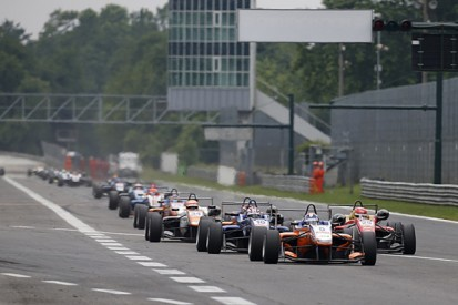 European F3 Monza: Poor driving standards caused race to be stopped