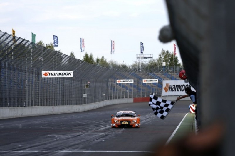 Lausitzring DTM: Audi's Jamie Green takes second win of 2015