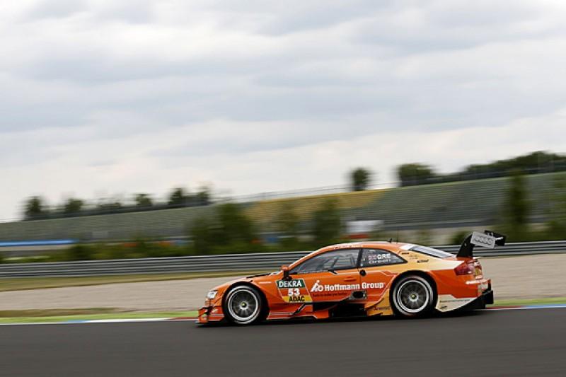 Lausitz DTM: Jamie Green leads Audi practice domination