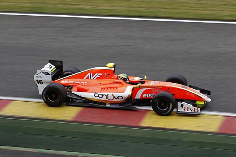 Spa FR3.5: Beitske Visser loses front row qualifying result