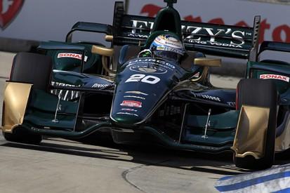 Detroit IndyCar: Luca Filippi fastest in Saturday practice session