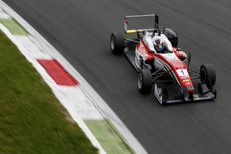Monza European F3: Felix Rosenqvist takes race one pole for Prema