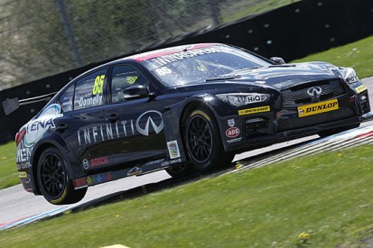 Infiniti withdraws factory support from Support our Paras BTCC team