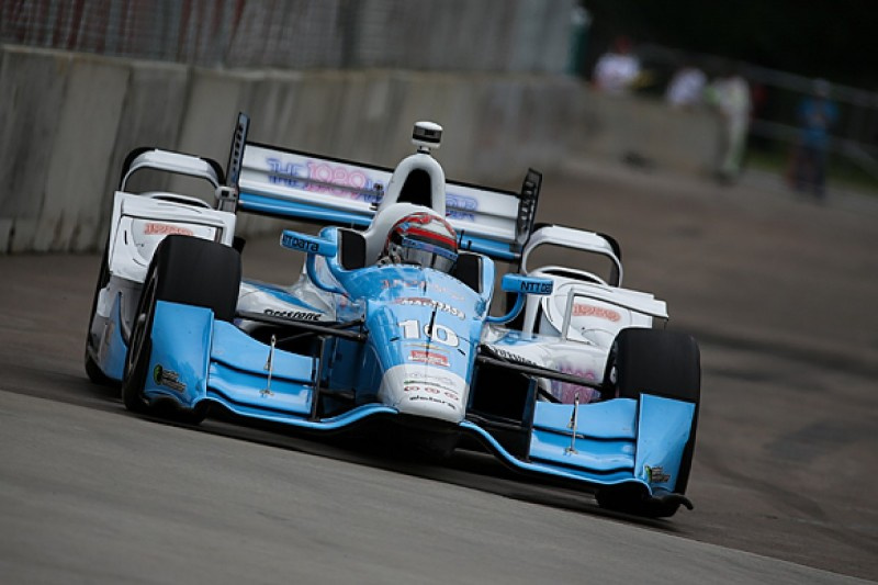 Detroit IndyCar: Tony Kanaan fastest in first practice
