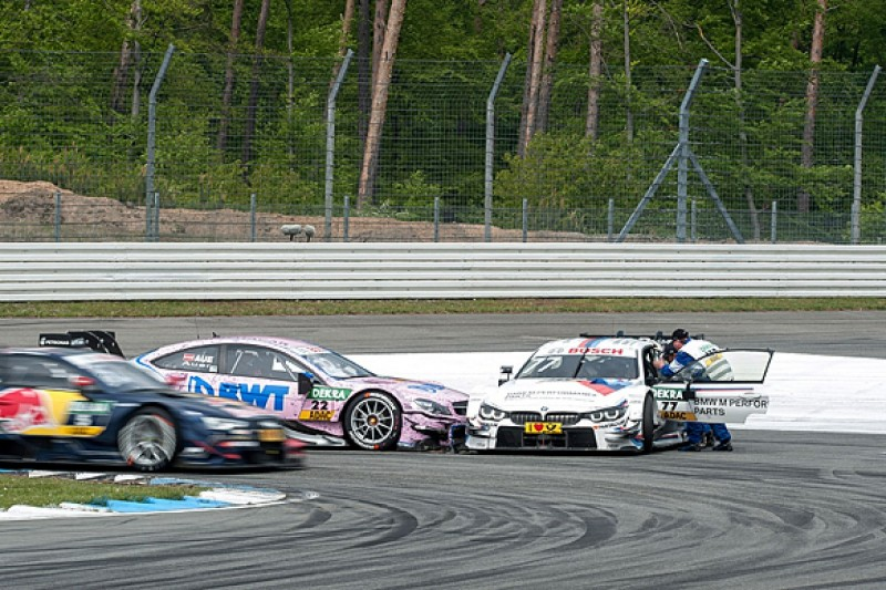 Gary Paffett and Martin Tomczyk continue spat over DTM collision