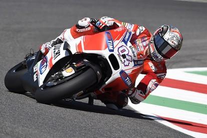 Mugello MotoGP: Andrea Dovizioso fastest again in practice two