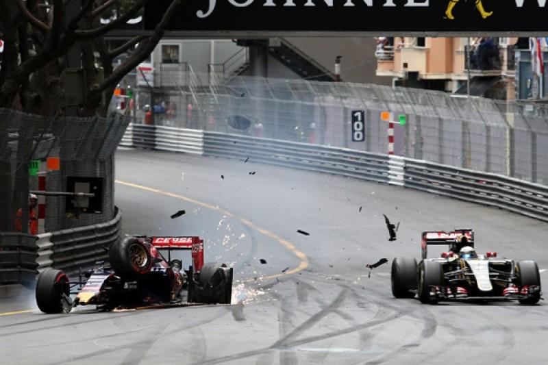 No Monaco GP brake test by Grosjean on Verstappen - Lotus F1 team