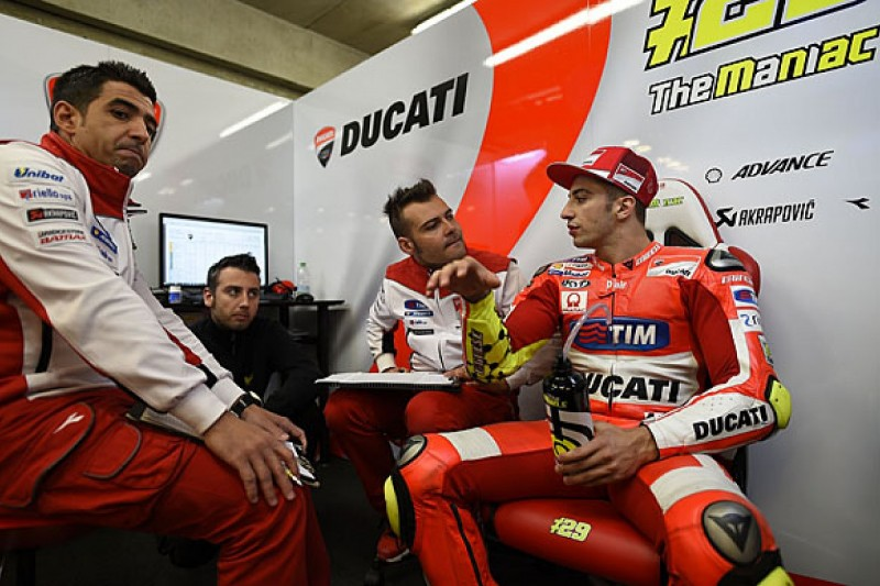 Ducati MotoGP rider Andrea Iannone discovers another arm injury
