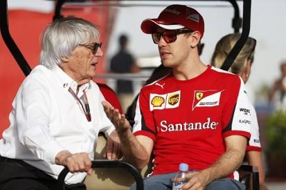Bernie Ecclestone says Rosberg/Vettel bad for Formula 1 business