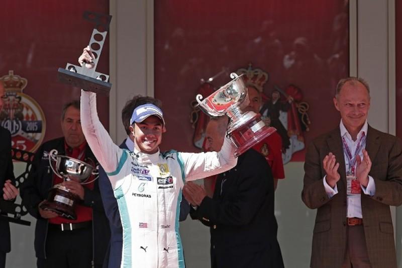 Monaco FR3.5: Jazeman Jaafar takes maiden win in chaotic race