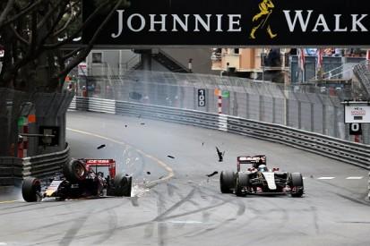 Monaco GP: Max Verstappen penalised for crash with Romain Grosjean