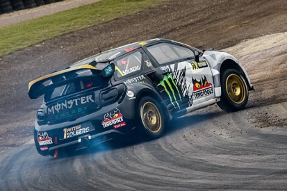 Lydden World Rallycross: Petter Solberg in command on day one