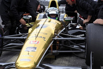 Ryan Briscoe stands in for injured James Hinchcliffe for Indy 500