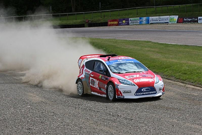 BTCC winner Tom Onslow-Cole wins rallycross talent search