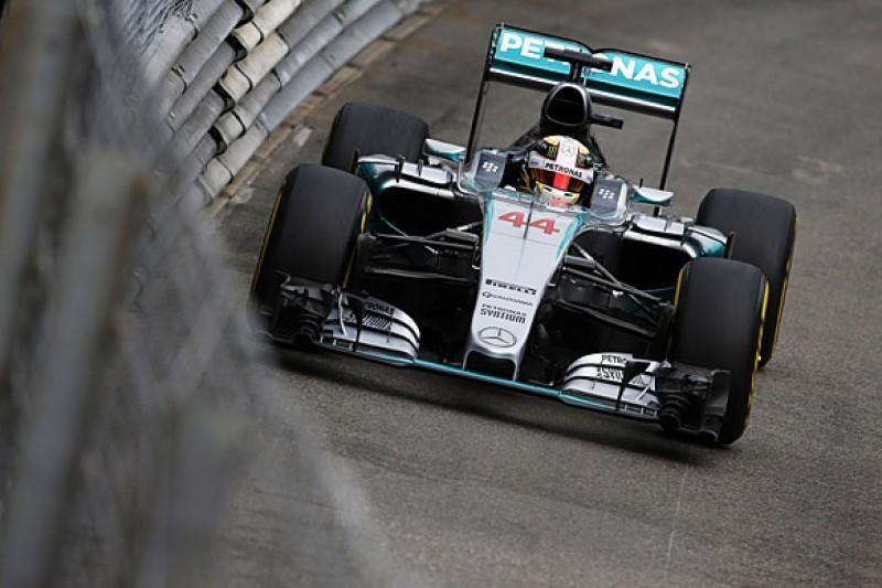 Monaco GP F1: Lewis Hamilton leads Max Verstappen in practice one