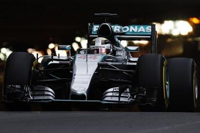 Monaco GP: Lewis Hamilton leads second F1 practice before rain hits