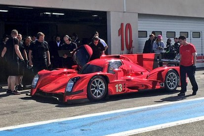 Rebellion Racing tests 2015 spec car ahead of its debut at Le Mans