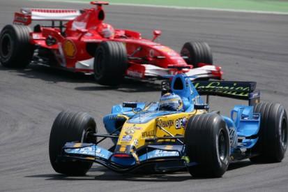 McLaren's Fernando Alonso calls for new Formula 1 tyre war