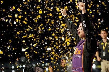 NASCAR All-Star: Denny Hamlin wins million-dollar race
