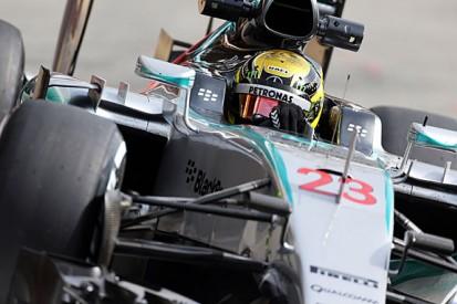 Mercedes' Pascal Wehrlein still feeling unwell on F1 test return