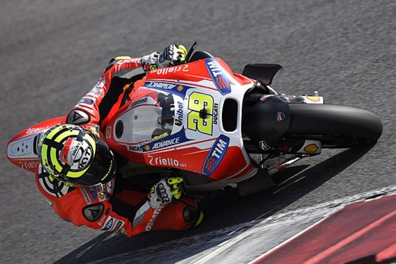 Andrea Iannone dislocates shoulder in Mugello MotoGP test crash