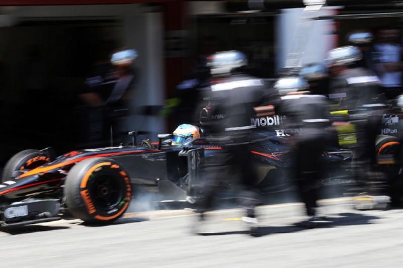 Spanish GP: Tear-off caused Fernando Alonso's McLaren brake issue
