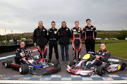 BTCC squad BMR creates front-wheel-drive kart for new academy