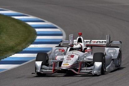 Indianapolis road course: Helio Castroneves fastest in practice