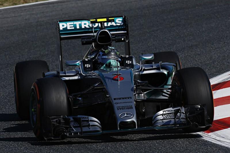 Spanish Grand Prix FP1: Nico Rosberg leads Lewis Hamilton