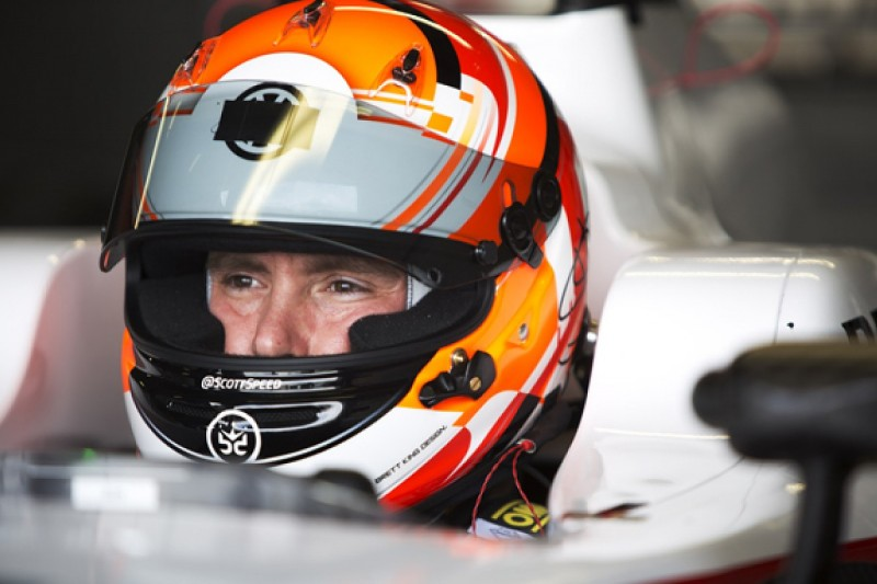 Scott Speed pushing for IndyCar test with Andretti Autosport
