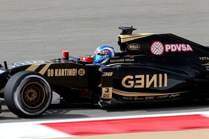 Jolyon Palmer gets further Lotus Formula 1 team runs