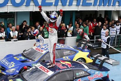 Hockenheim DTM: Mattias Ekstrom wins race two for Audi in rain