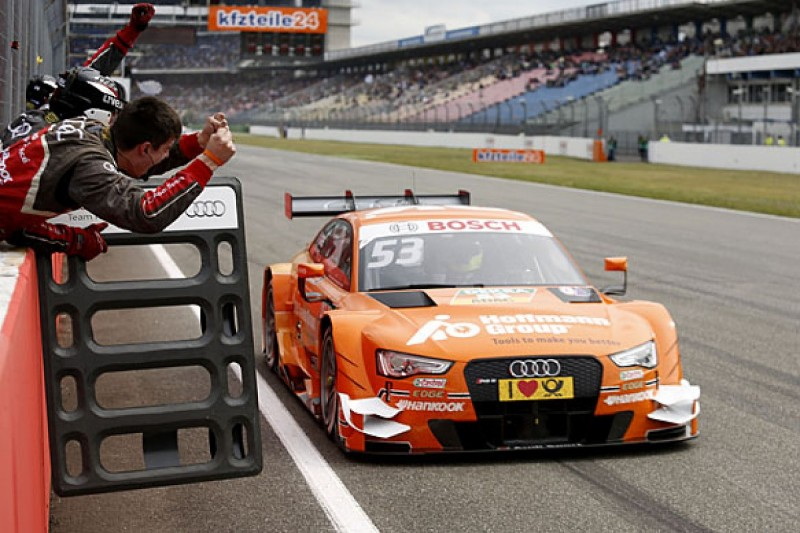 Jamie Green takes first victory for Audi in Hockenheim DTM opener
