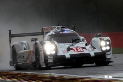 Spa WEC: Lieb leads wet practice for Porsche, Hulkenberg fourth