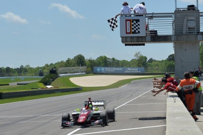 Barber Indy Lights: Pigot beats Harvey to complete double