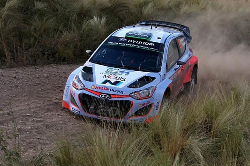 WRC Rally Argentina: Spectators hurt as Paddon's Hyundai crashes