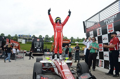 Barber Indy Lights: Spencer Pigot takes dominant first win