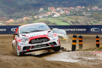 Montalegre World Rallycross: Bakkerud leads day one for Olsbergs
