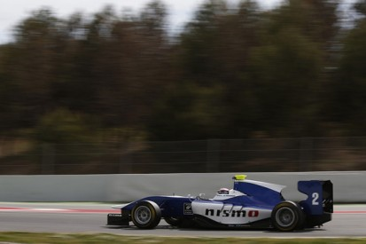 Nissan driver Mardenborough starts final GP3 test on top