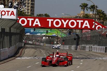 IndyCar Long Beach: Scott Dixon defeats Penske drivers to win