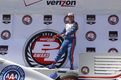 Long Beach IndyCar: Castroneves beats Montoya to pole