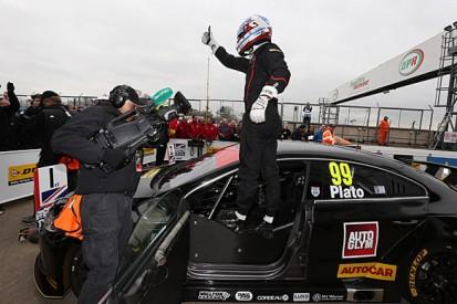 Donington Park BTCC: Jason Plato takes his first win in BMR's VW