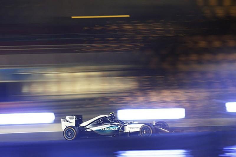 F1 Bahrain GP: Nico Rosberg pips Lewis Hamilton in practice