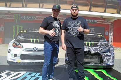 Petter Solberg and Liam Doran team up for 2015 World Rallycross