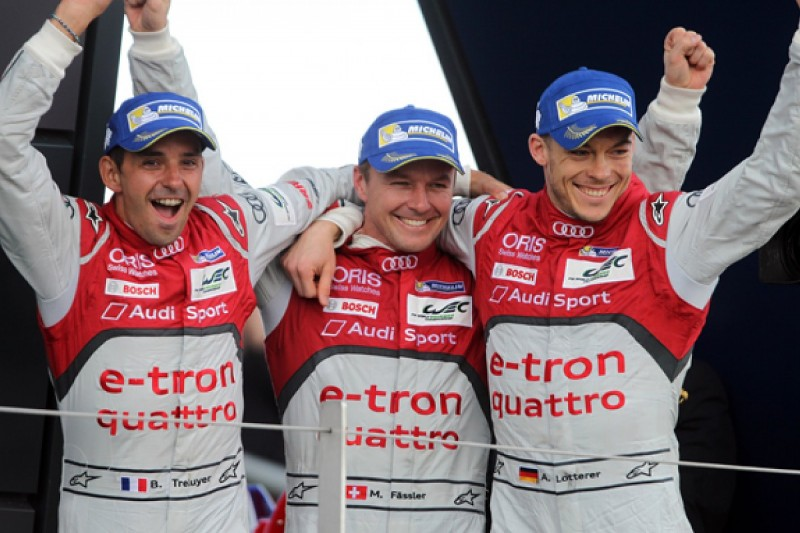 Silverstone WEC: Audi holds out Porsche to win season opener